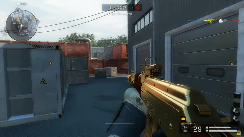 X Medium Тупо тащит 1 vs 5 Gold AK 47