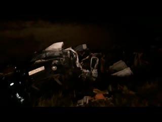 У Форда Карго оторвало кабину после столкновения с Газелью