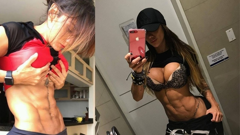 Fit Women Workout - Colombian Female Instagram Exclusive FBB Abs Flex Workout 2019 (Sonia Isaza)