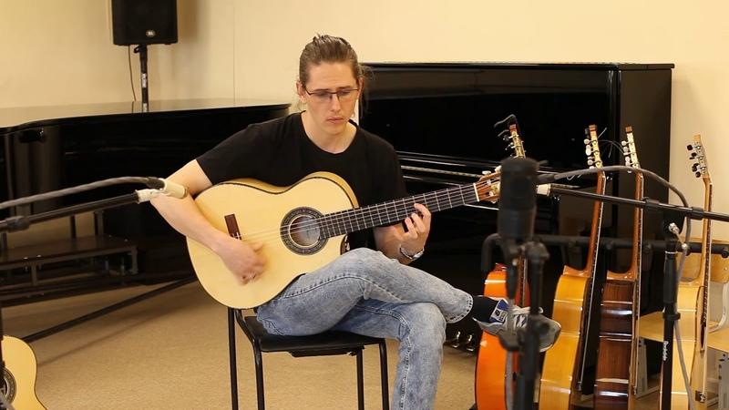 Konstantin Ushakov - Seguiriya. Guitar Simeon Yolkin, Ala Ligera, 2020.