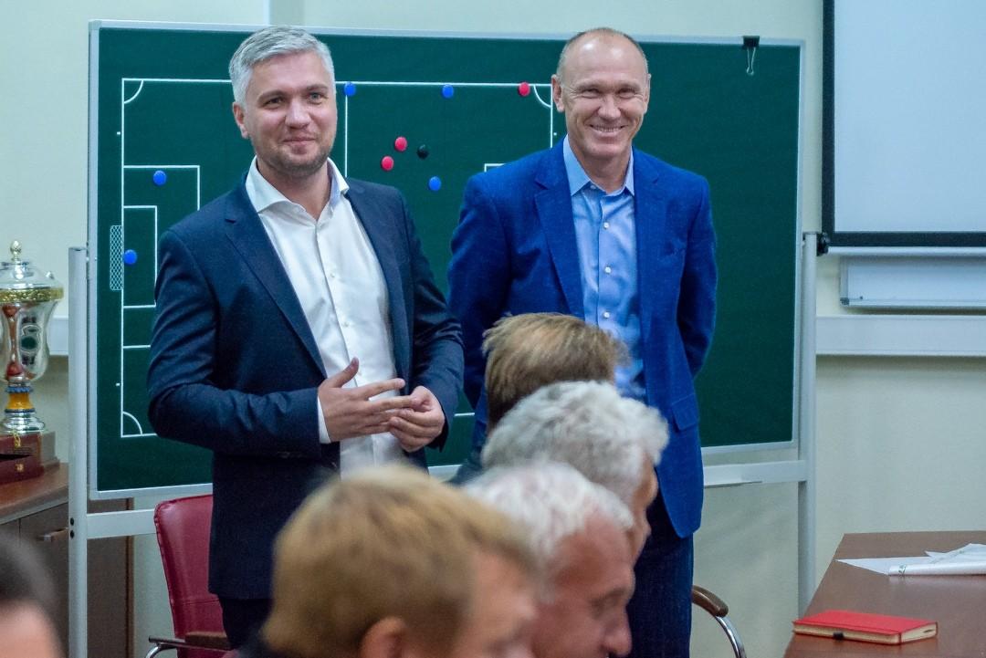 Дмитрий Сидоров и Сергей Родионов