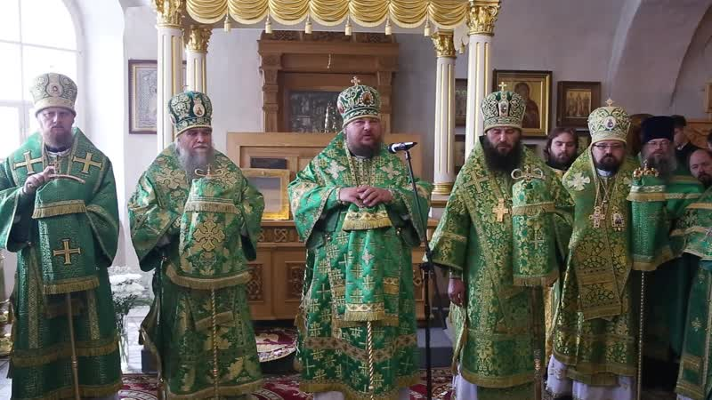 Слово митрополита Ферапонта в день памяти прп. Макария Унженского