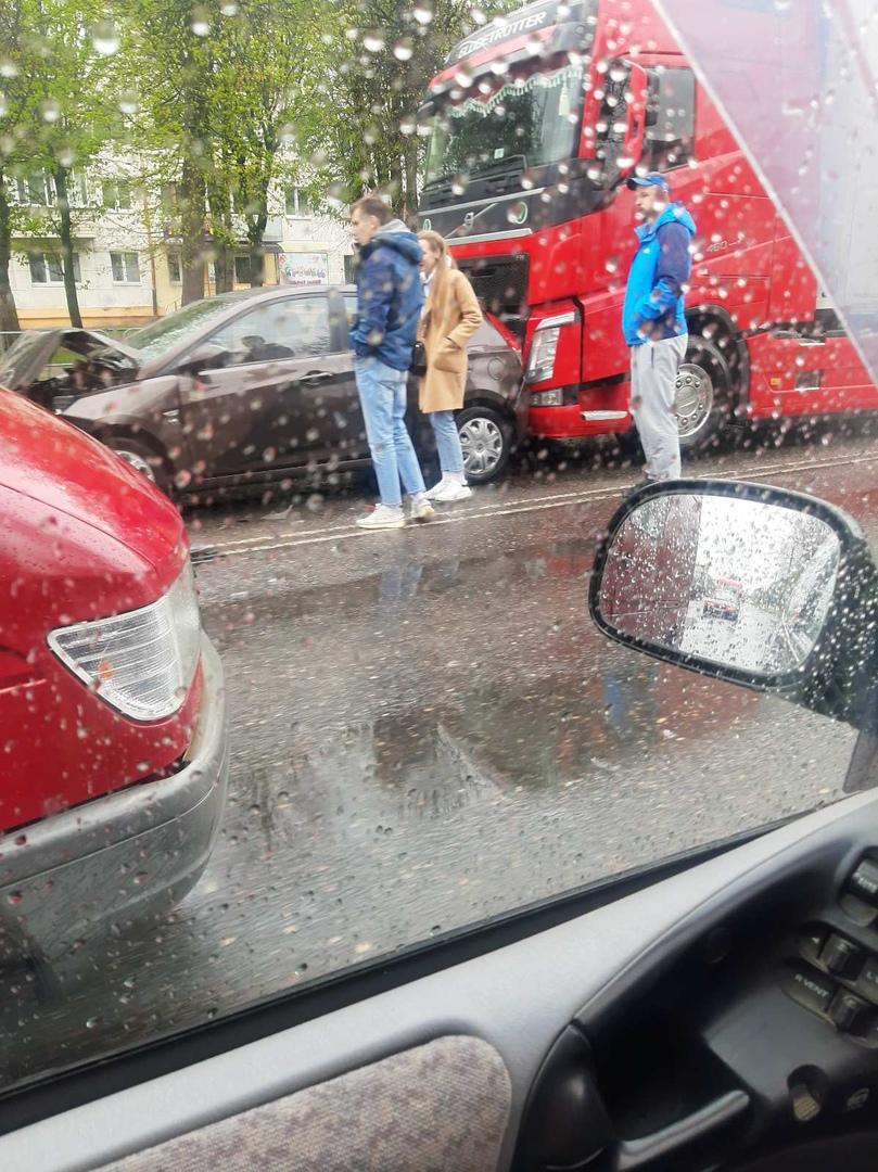 Показываем фото ДТП, которые произошли сегодня и вчера в Бресте (и не только)