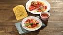 Йога рецепты Разноцветный салат из помидоров на жареном сулугуни