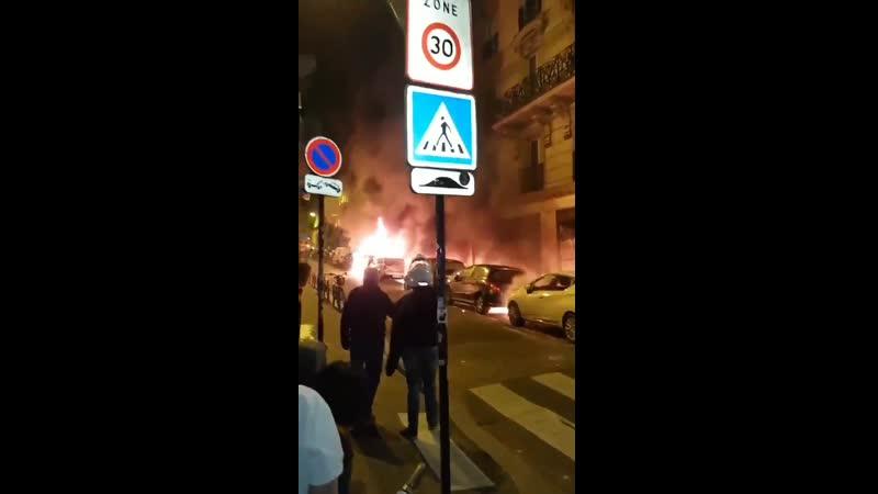 NouvelAn2020 On rapporte déjà des dizaines de voitures brûlées dans Paris intra muros