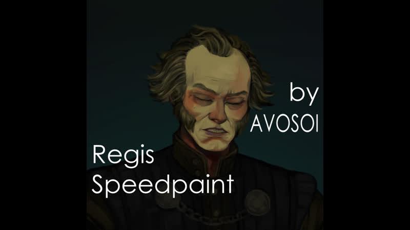 Regis Speedpaint by AVOSOI The Witcher 3 Blood and Wine Регис