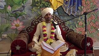 Матхура Бихари   Шримад Бхагаватам    день четвёртый   часть 1   от 11 07 19