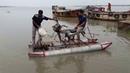 Home made jetski using a motorbike boat. Bike speed boat, Magic bike