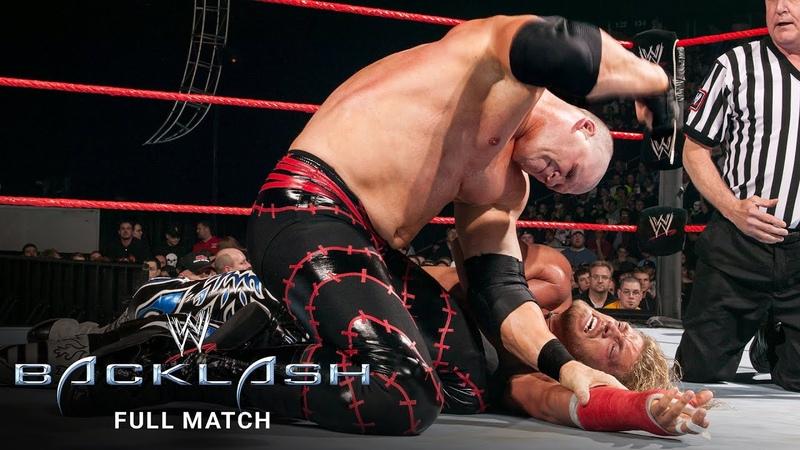 FULL MATCH Edge vs Kane WWE Backlash 2004