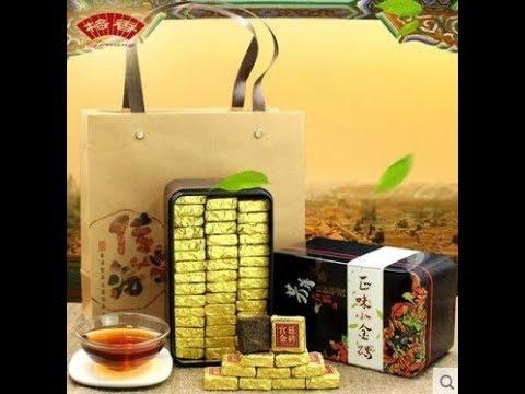 Дворцовый пуэр в золотых кубиках