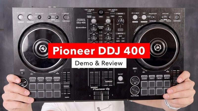 Pioneer DDJ 400 Rekordbox Controller - Demo Review