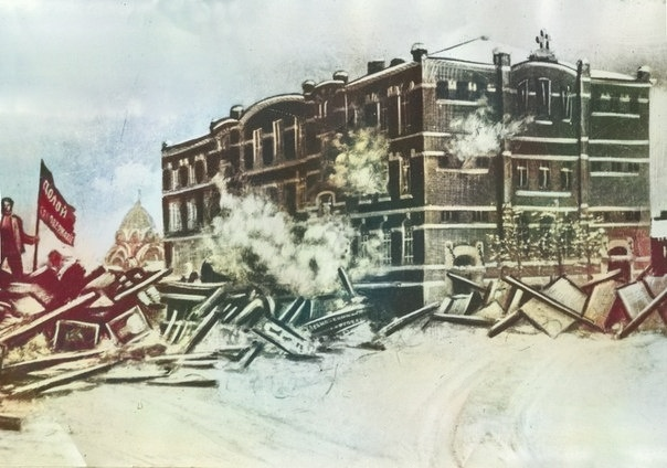 История одной фотографии:  улица Баррикад со стороны Коминтерна, изображение №3