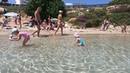 Невероятный пляж Fig Tree на Кипре, лазурная вода, съемка под водой.