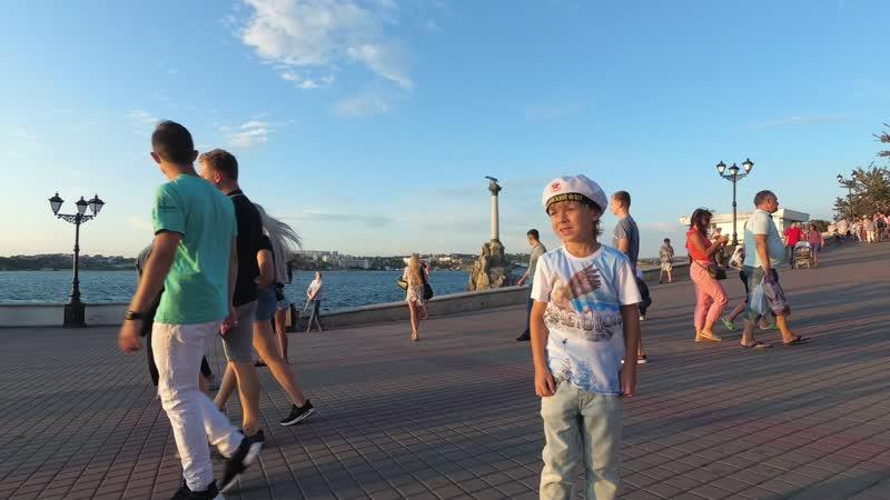 Севастополь 2019 Последний день отпуска ч.5 Смотреть ВСЕМ ! Ясик рассказывает как потонули затопленные корабли, жесть!