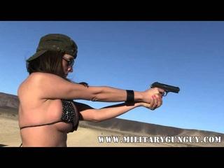 Arielle Ferrera VS The CZ 27 in.32 ACP
