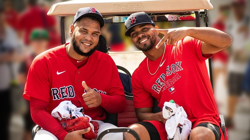 On the Field With Christian Vázquez, Michel Chavis, More | Red Sox All-Access