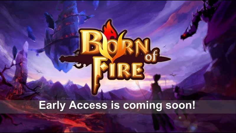 Born of Fire Early Access - Developed by Leaf Boat Studio