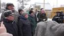 Запуск газопровода в Зареченском посёлке
