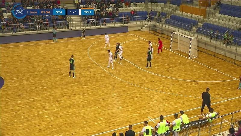 Основные моменты Столица - Тулон Элит Футзал / Stalitsa - Toulon Elite Futsal Highlights