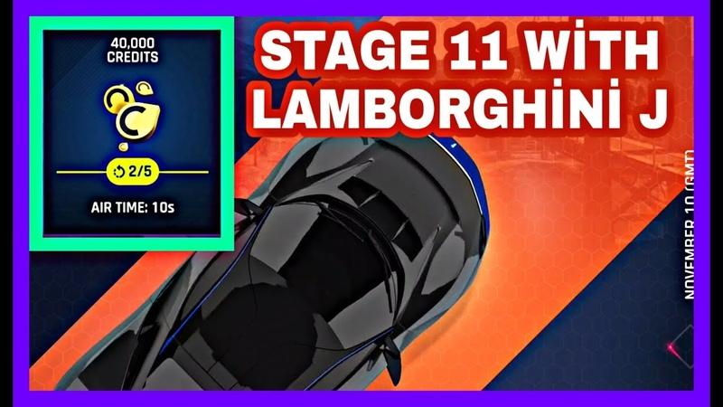 Asphalt 9 PİNİNFARİNA BATTİSTA SE STAGE 11 With Lamborghini J how to AİR TİME 10 S