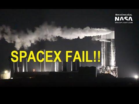 Nave espacial da SpaceX se desmancha em teste Mais um fracasso do colonizador de Marte
