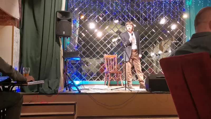Вячеслав Казакевич Твой Шёпот моя авторская песня в клубе Золберг