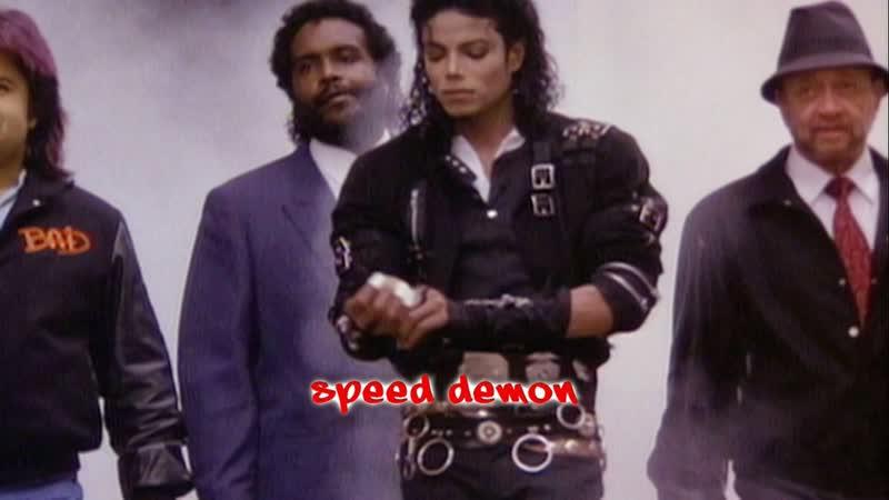 Michael Jackson - Making of Speed Demon (Spike Lee, Bad 25)