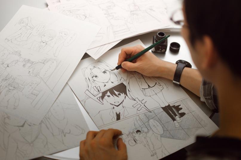 Сколько часов в месяц аниме-художники работают в Японии?, изображение №1