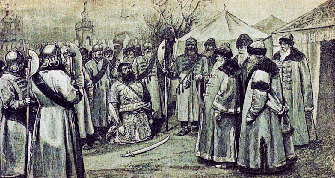 Иван Болотников в плену