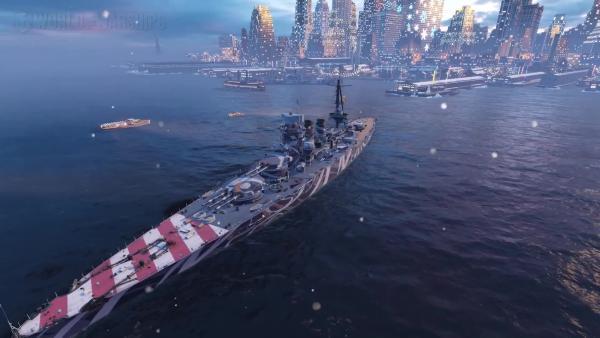 Редкие премиумные корабли в Новогодних контейнерах! | World of Warships