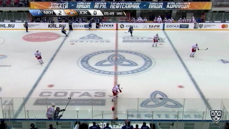 Моменты из матчей КХЛ сезона 17/18/19 • Гол. 2:1. Йоэнсуу Ессе (Йокерит) с пятака 25.09