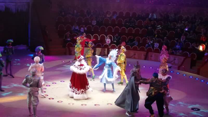 Жонглеры Дед Мороз Цирк на Фонтанке 18 01 2020