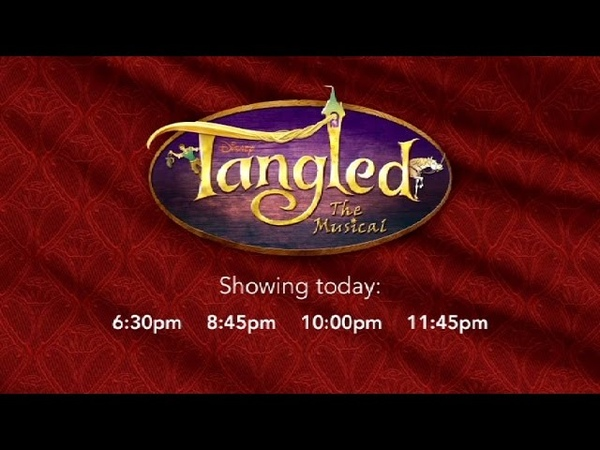 Disney Cruise - Tangled - The Musical (2017)