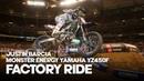 FACTORY RIDE: Justin Barcia Monster Energy Yamaha YZ450F