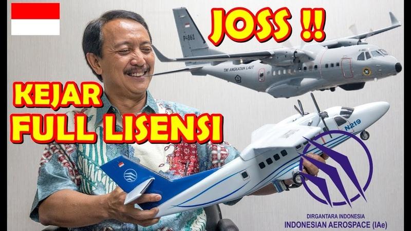 AMBISI DIRGANTARA INDONESIA ambil alih FULL LISENSI CN 235 NC 212 rancangan HABIBIE dari AIRBUS