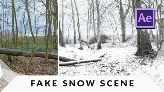 Make a SUPER REALISTIC Snow Scene in After Effects Tutorial