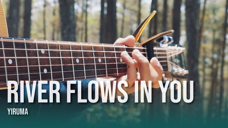 (TAB) River Flows in You - Yiruma, (이루마) - Fingerstyle Guitar Cover