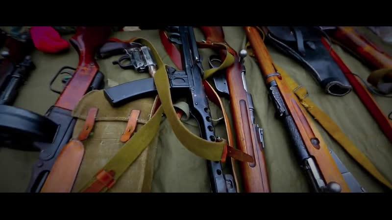Оружие Великой Отечественной войны Донская пулемётная команда на полигоне 13СБ Октябрь 2015