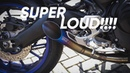 PURE SOUND AKRAPOVIC EVO GP ON YAMAHA MT-09