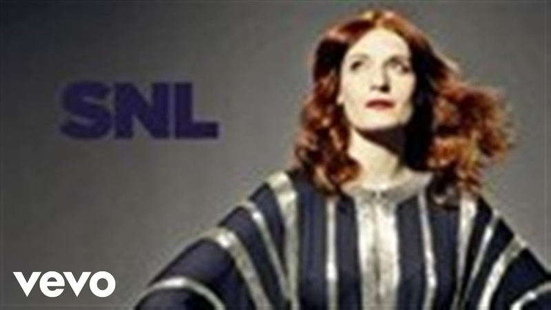 Florence The Machine No Light No Light Live on SNL