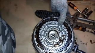 Harley-Davidson DYNA Super Glide, замена генератора, снятие сцепления, агрессивный разворот, стант