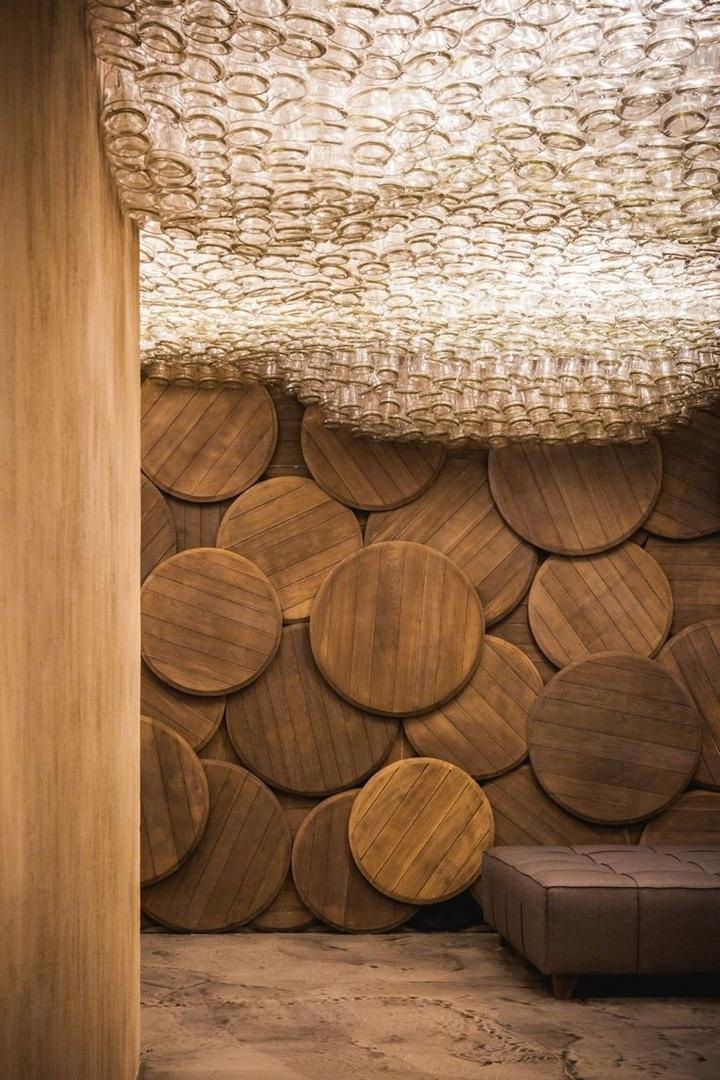 Дерево в оформлении, в дизайне интерьера.