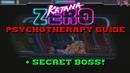 Katana Zero Psychotherapy Achievement Guide Secret Boss