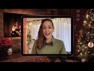 Carolina made an appearance at overwatch yule log 2019 twitch stream the one jeff kaplan