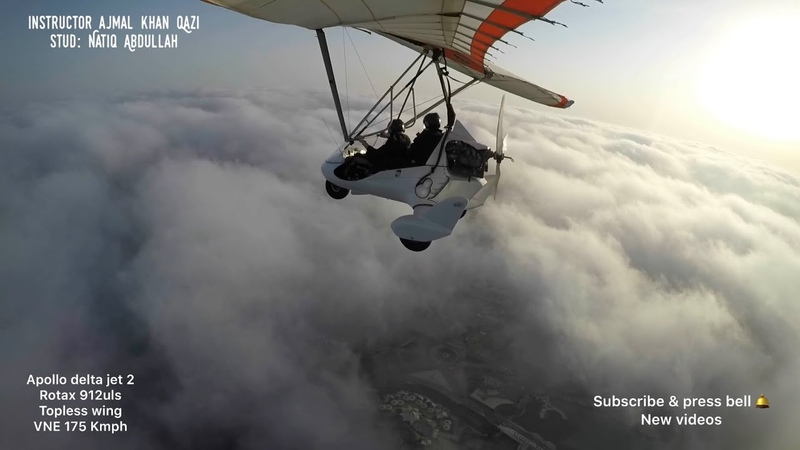 Ultralight microlight trike Apollo delta jet2 topless wing super flying