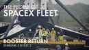 SpaceX Fleet OCISLY enters Port Canaveral Booster B1051 3 Starlink 3 comes home