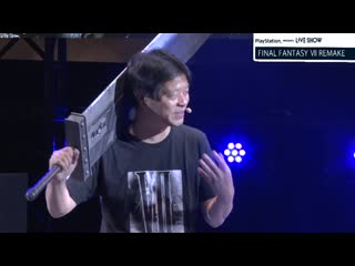 """『""""final fantasy ⅶ remake"""" special stage』playstation® presents live show """"tgs2019"""