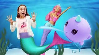 Классные куклы девочкам. Новые приключения Barbie Dreamtopia! Веселые видео истории.