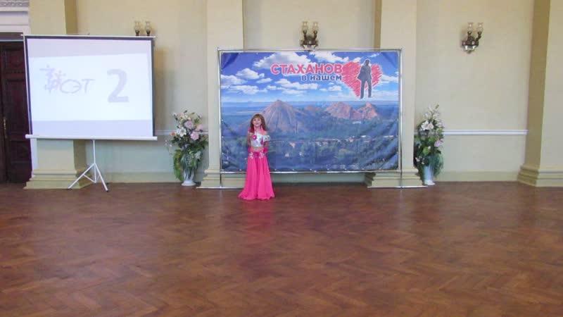 Дебют Полины в конкурсе Королева Восточных танцев 2020 Raqs Sharki