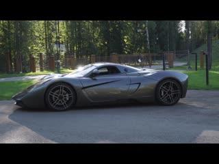 Дождались, обзор на отечественный спорткар - Marussia